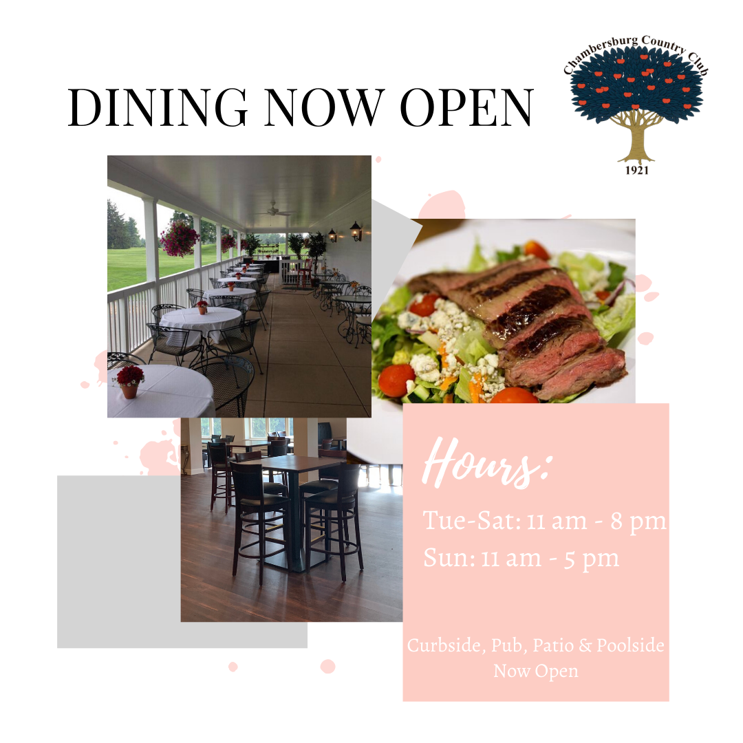 Dining Now Open 2020